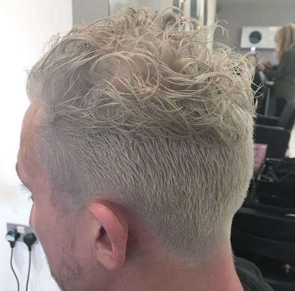 after bleach